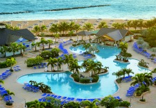 St Kitts Marriott Pool Overview