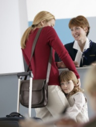 Kids and airport security