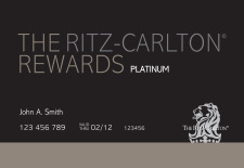 Ritz Carlton Rewards Card