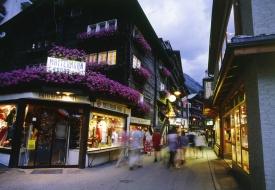 Zermatt shopping