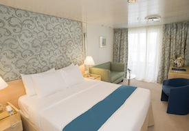 Category C Deluxe Balcony Stateroom on Aegean Odyssey