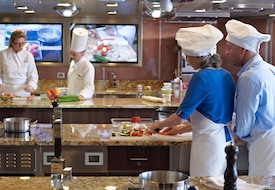 Bon Appetit Culinary Center onboard Oceania Riviera