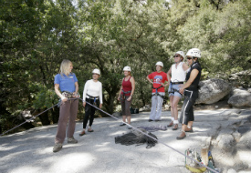 Girls on Granite Rock Climbing Program