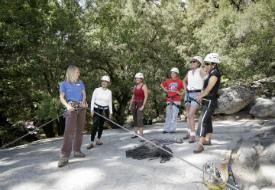 Girls on Granite Rock Climbing Program