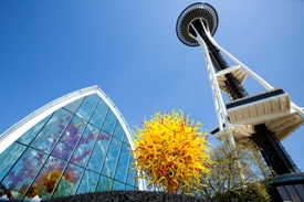 Glasshouse Space Needle Seattle
