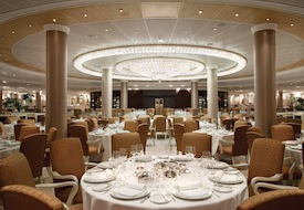 Grand Dining Room on Oceania Riviera