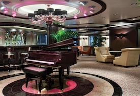 Martinis Lounge on Oceania Riviera