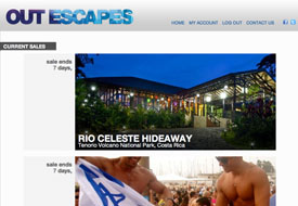 Out Escapes Gay Travel Flash Sales Events