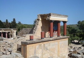 Palace at Knossos, Crete