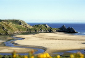 Three Cliffs Bay Gower Peninsula