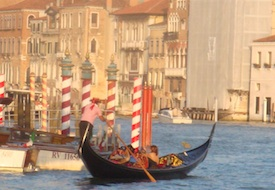 Gondola in Venice, Italy