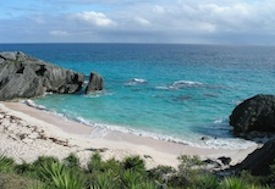 A Beach in Bermuda