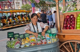 Fruit Cart at Disneyland