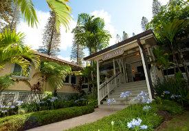 Hotel Lanai Entrance