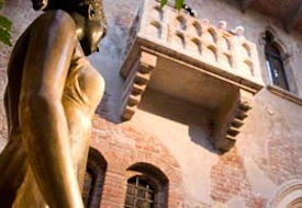 Statue of Juliet in Verona, Italy
