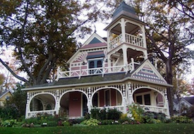 Bay View Michigan Victorian home
