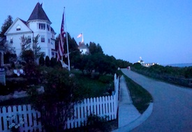 Dusk on Mackinac Island
