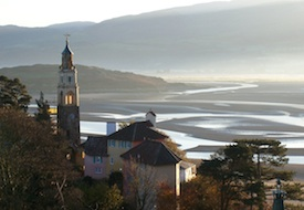 Portmeirion in Wales