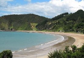 Russell New Zealand beach