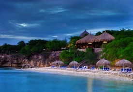 Beach at Sandton Kura Hulanda Lodge in Curacao