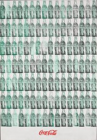 Andy Warhol Green Coca-Cola Bottles