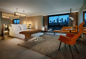 SLS Hotel at Beverly Hills Presidential Suite Bedroom