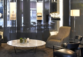 Lobby of Bulgari Hotel in London
