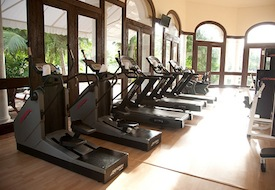 hotel gym treadmills
