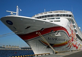 Norwegian Cruise Lines ship 