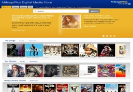 MileagePlus Digital Media Store