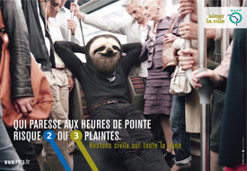 polite campaign RATP