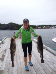 Inn at Happy Adventure cod fishing