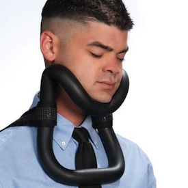 uprright sleeper sleeping neck