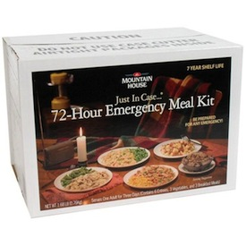 Emergency meal kit