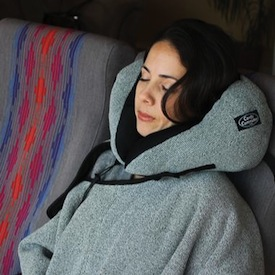 Comfy Commuter Pillow Blacket