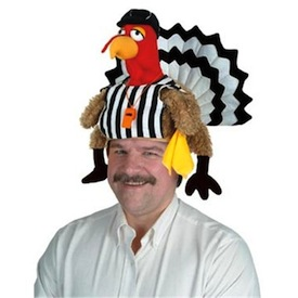 Turkey Referee Hat