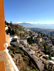 Granada as seen from Alhambra Palace Hotel