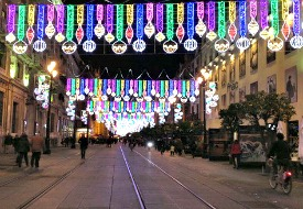 Seville Christmas Lights 275x190