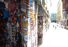 Melbourne Laneways (c) John Garay