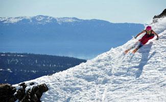 Spring Skiing at Squaw