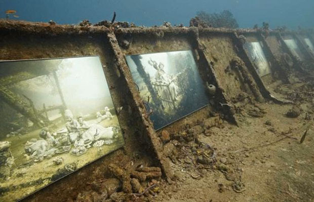 Underwater Art Galleries