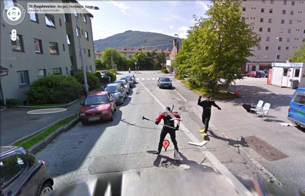 Cool Google Street View Photos