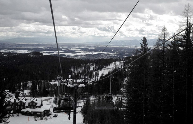 Whitefish-mountain