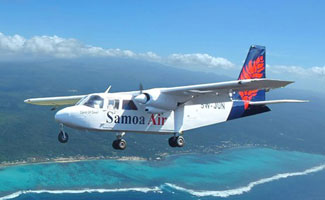 Samoa Air Charging by Weight