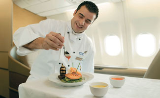 Eco-Friendly Airplane Food
