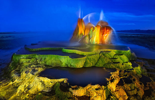 Nevada Fly Geyser