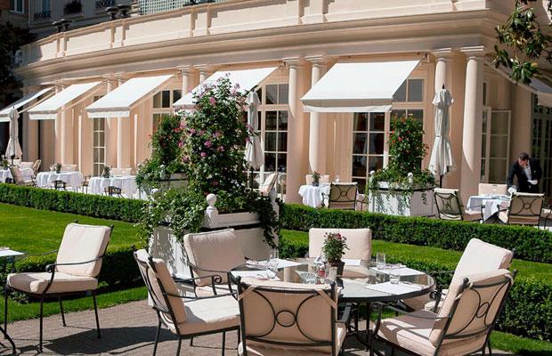 Hotel Le Bristol Garden