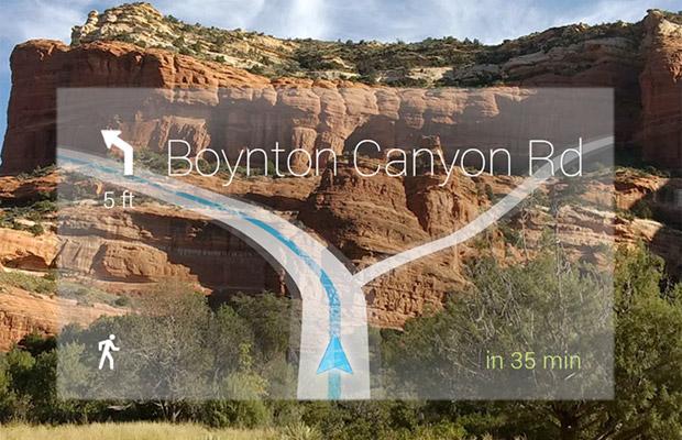 Google Glass Navigation