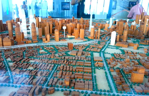Petronas-towers-skyline-model