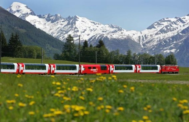 Switzerland Glacier Express